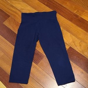 Justice girls navy capris size 14/16